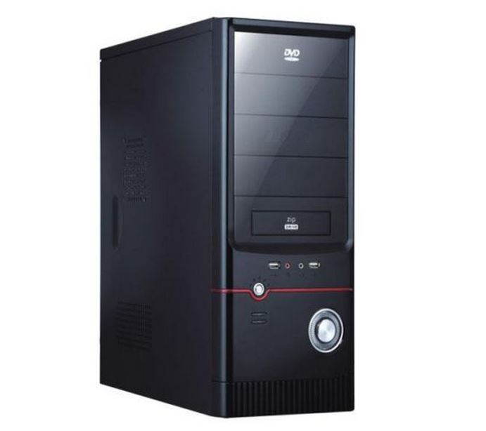 Pc Gamer Intel H-61M, 4Gb-Ram, HDD-500Gb, nVidia GeForce® GT 240